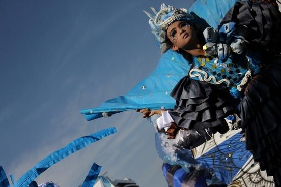 costume and sky