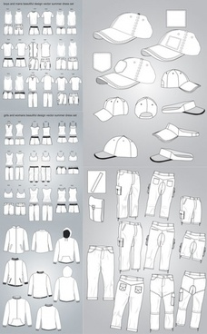 costume design vector