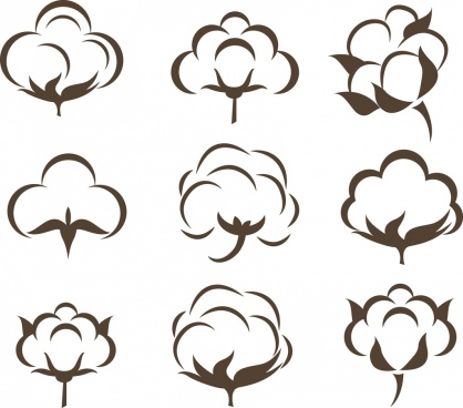 cotton flower free vector download 10 895 free vector