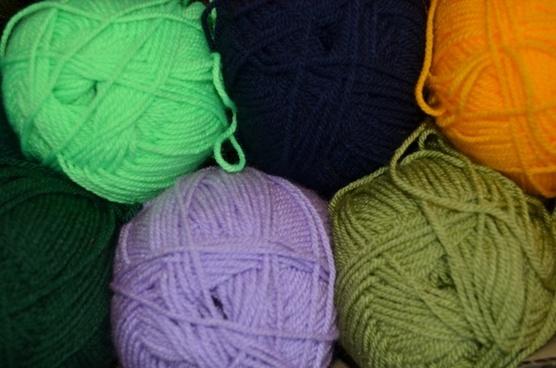 cotton knitting brown