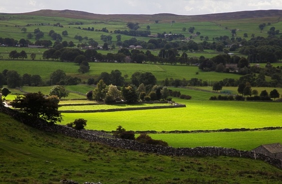 country countryside dales