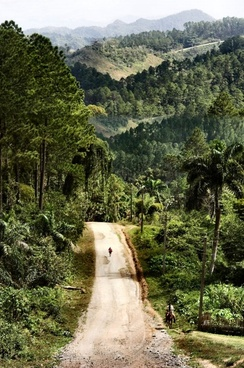 country road cuba