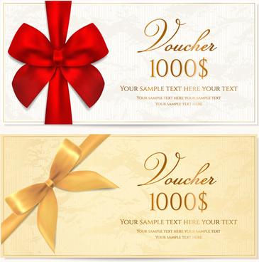coupon design elements vector