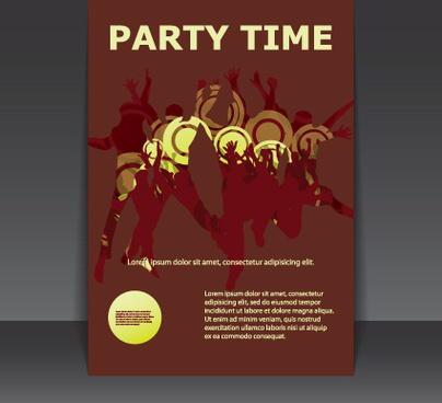cover brochure design art vector