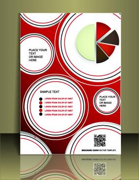cover flyer creative design vector