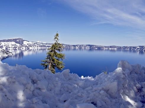 crater lake oregon usa