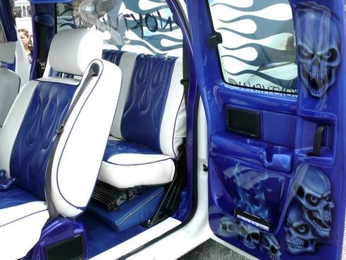crazy car interior automobile