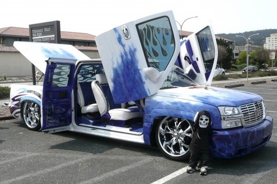 crazy car vehicle
