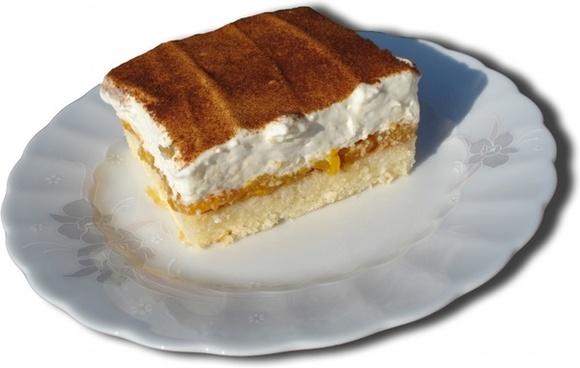cream cake sweet dish cream