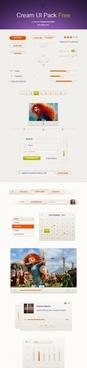 Cream UI Pack