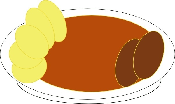 Creamy Tomato Soup clip art