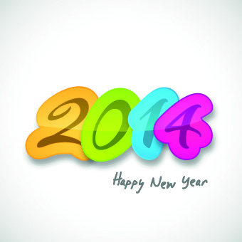 creative14 new year design vector graphic