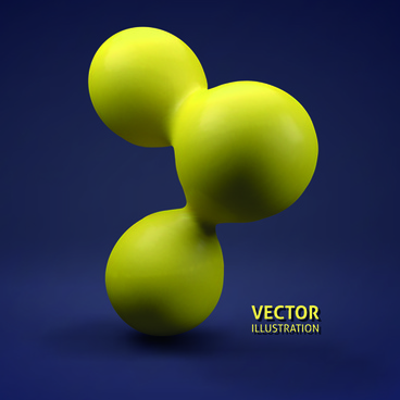 creative 3d sphere vector illustration