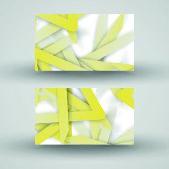 creative abstract cards vector