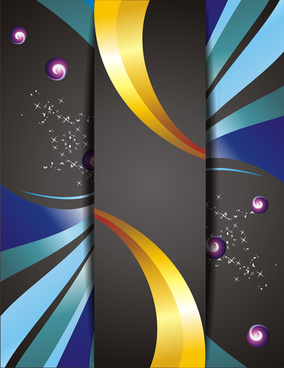 creative abstract cover background vectors