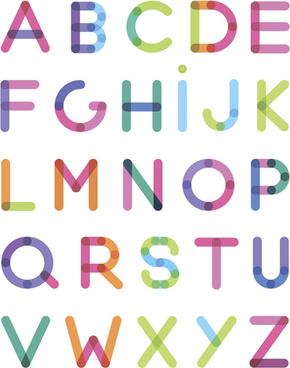 Creative Alphabet Word Art Free Vector Download 221 999