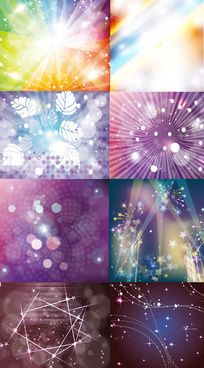 creative beam backgrounds vector graphic
