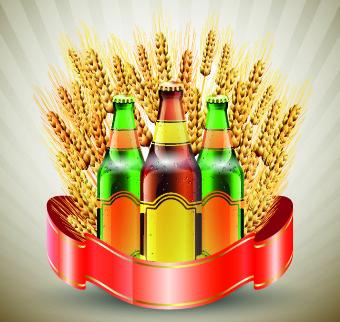 creative beer poster vector set