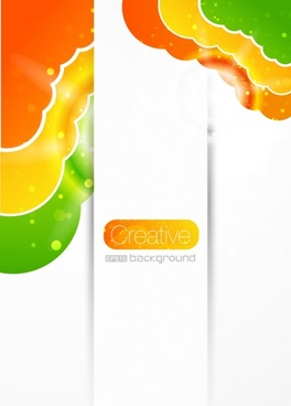 decorative background shiny colorful modern abstract