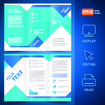 tri fold brochure free vector download 2 739 free vector for