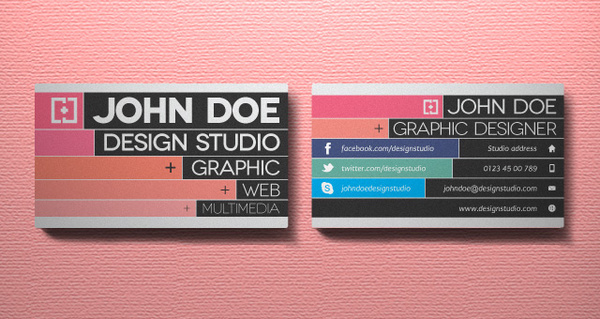 Free vector creative business card design free vector download creative business card vol 3 reheart Choice Image