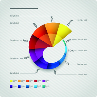 creative business infographic vector