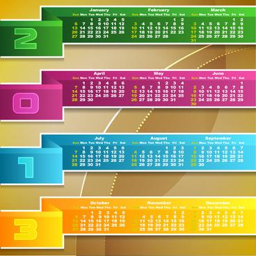 creative calendar designs free vector download 14 738 free vector