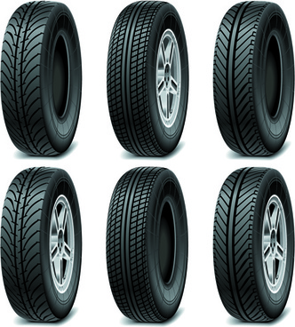 Car Tyre Vector Free Download, Creative Car Tires Vector Design, Car Tyre Vector Free Download