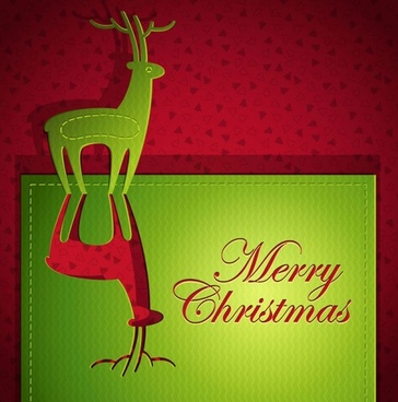 creative christmas cards 04 vector