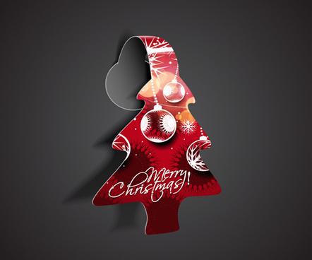 creative christmas design art vector