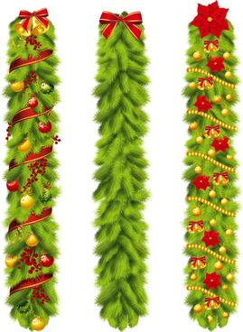 creative christmas design elements vector