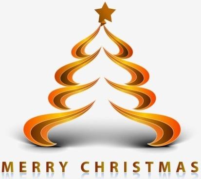 creative christmas tree 09 vector