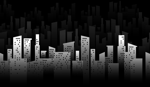 creative city vector backgrounds