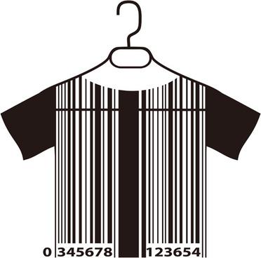 creative clothes hangers design elements vector
