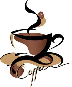 creative coffee design elements vector