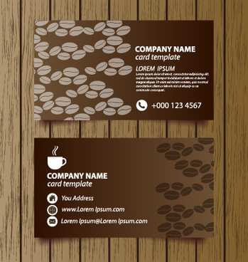 Coffee shop business card free vector download 24972 free vector creative coffee house business cards vector graphic accmission Gallery