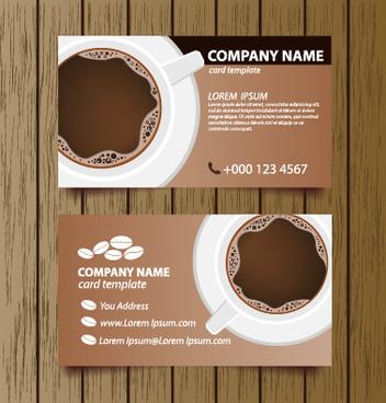 Coffee shop business card free vector download 25117 free vector creative coffee house business cards vector graphic colourmoves