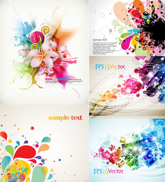 creative colorful background vector