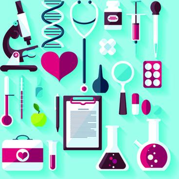 creative design medical tool vector