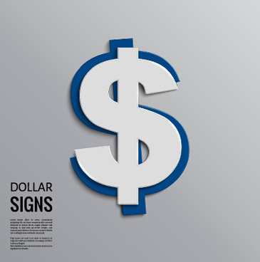 Dollar Sign Free Vector 8 161