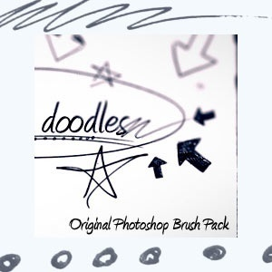 Creative Doodles Photoshop Brush