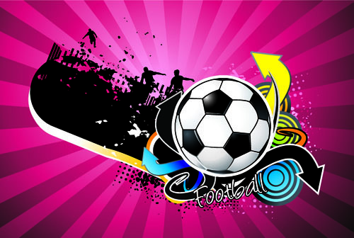 creative euro cup12 background vector