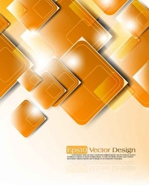 creative geometry shapes shining background vector
