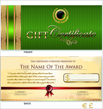 Coreldraw certificate templates free vector download 16766 free creative gift certificate template vector yelopaper Choice Image