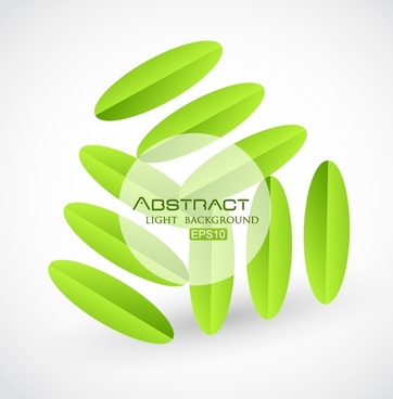 creative green background pattern vector