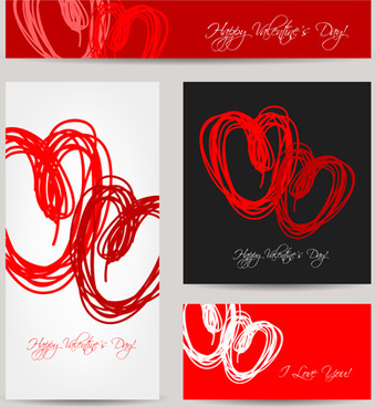 creative hearts valentines day cards