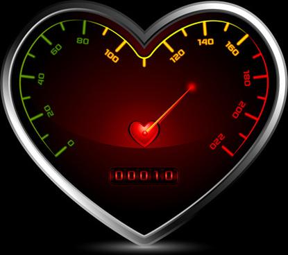 creative hearts vector