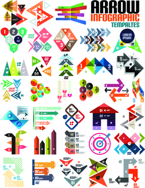 creative infographic design elements vector