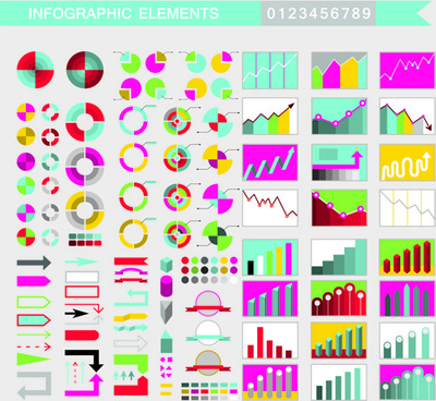 creative infographic element vector