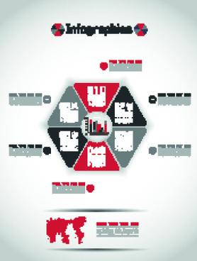 creative infographic vector set
